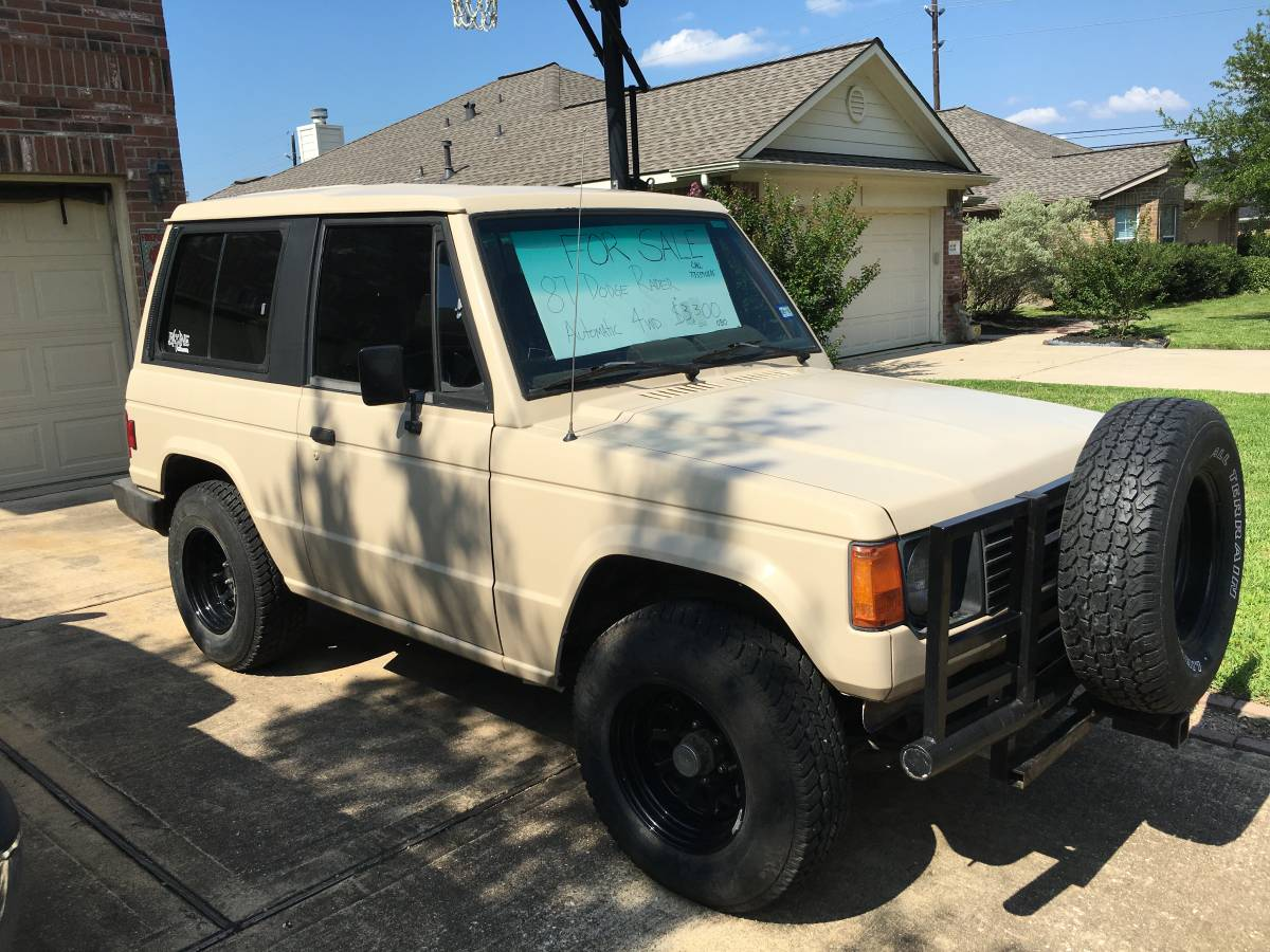 Dodge Raider For Sale >> 1987 Dodge Raider Automatic For Sale In Tomball Texas