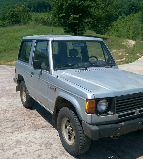 1987 Dodge Raider 4x4 V4 Manual For Sale In Spring City