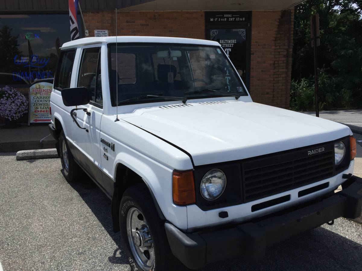 1987 Dodge Raider V4 Automatic For Sale In Westminster