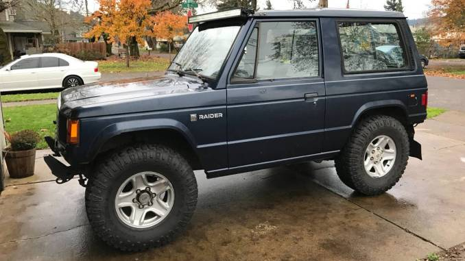 Dodge Raider For Sale >> 1987 Dodge Raider 2 3 Turbo Diesel Swap For Sale In Creswell Or